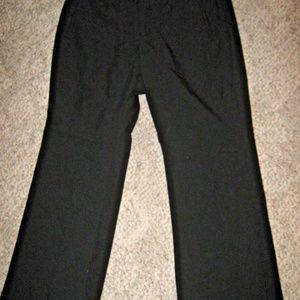 Black Boot Cut Stretch 4 Pocket Dress Pants 16P